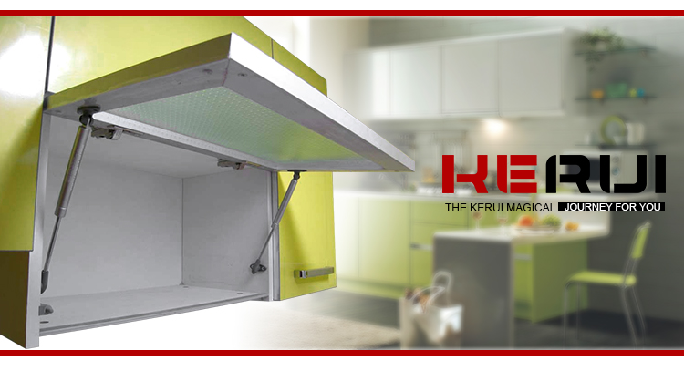 Hot rebound device supplier magnetic kitchen metal Kerui Furniture Hardware Brand
