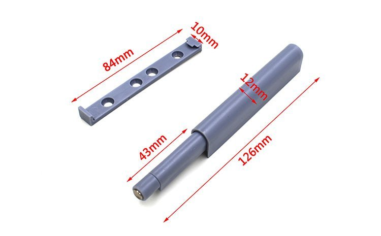 Furniture Hardware Accessory Door ABS Plastic With Magnetic Reverser Buffer Door Doors Buffer Door Touch KR-814