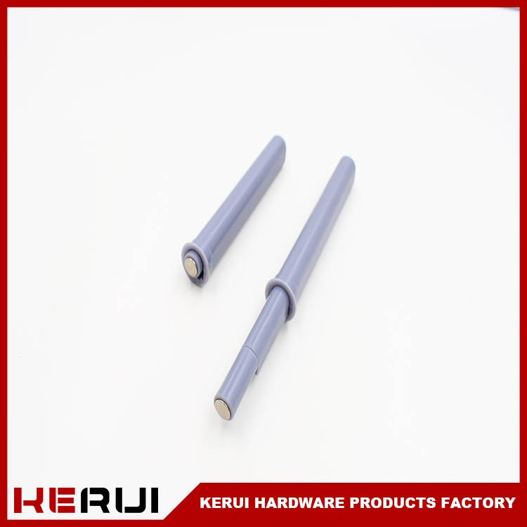 Kerui Furniture Hardware Brand twodoor metal rebound device rummer plastic