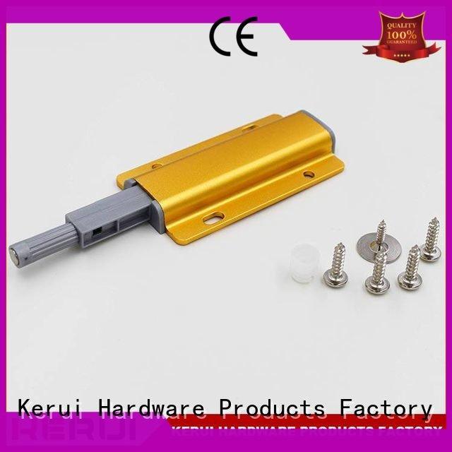 Custom rebound device door concealed accessories Kerui Furniture Hardware