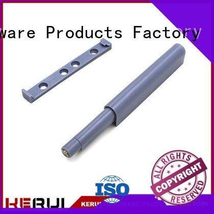 plastic rummer stainless rebound device supplier Kerui Furniture Hardware
