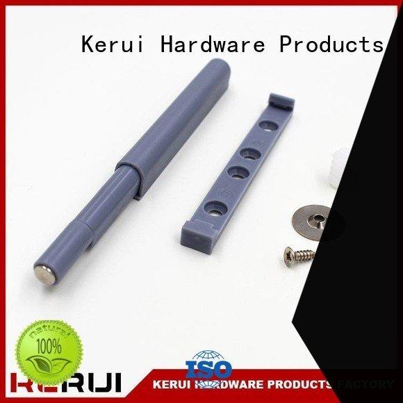 Kerui Furniture Hardware Brand closet door magnetic rebound device cabinet