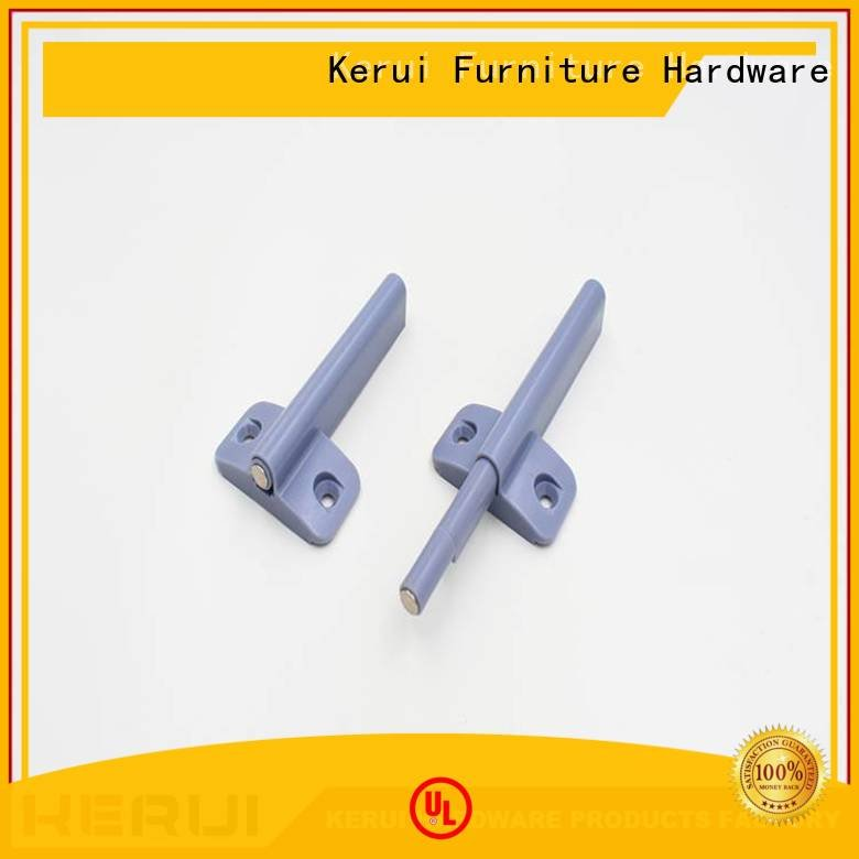 Kerui Furniture Hardware hidden handle highquality rebound device supplier hardware