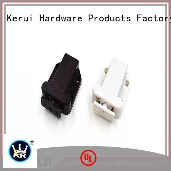 abs touch rebound device supplier Kerui Furniture Hardware Brand