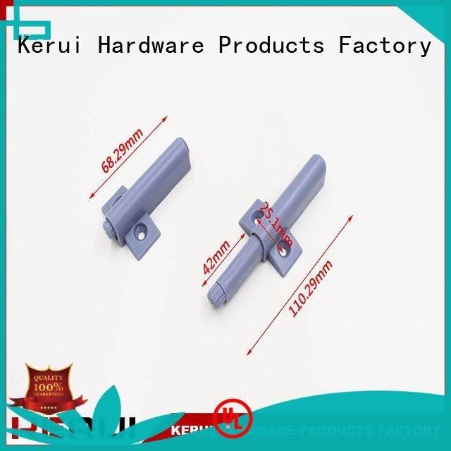 rebound device supplier plastic door vigorously Kerui Furniture Hardware