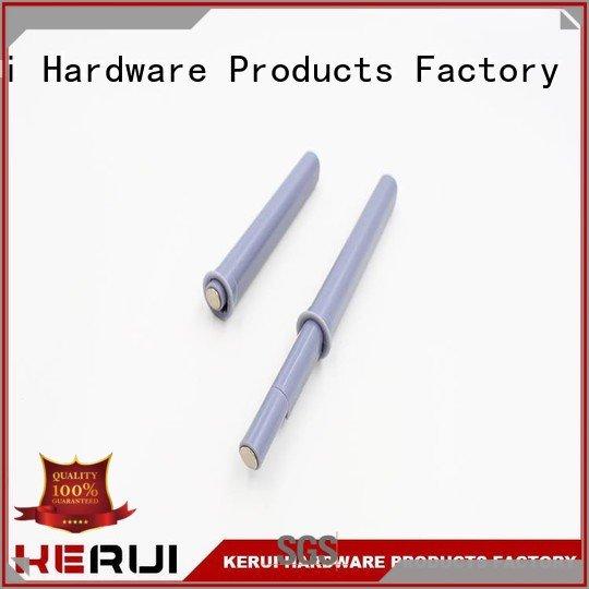 Kerui Furniture Hardware bulb abs rebound device closet doors