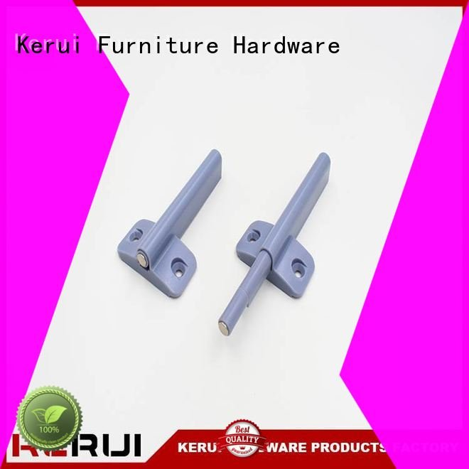 Kerui Furniture Hardware Brand suction rebound selflocking rebound device kitchen