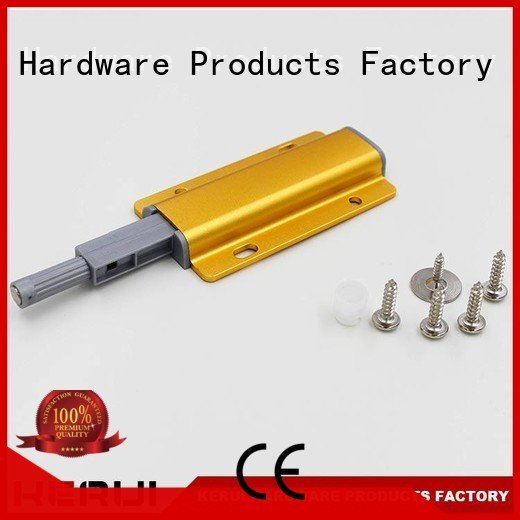rebound device supplier drawer reflector rebound device Kerui Furniture Hardware Warranty