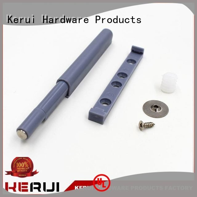 luxury wooden rebound device supplier Kerui Furniture Hardware