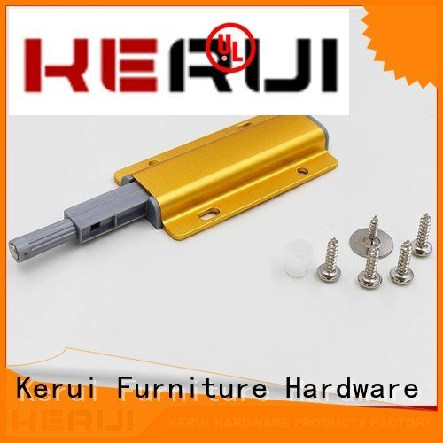Kerui Furniture Hardware stainless rebound device touch buffer