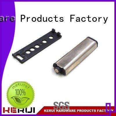 Kerui Furniture Hardware Brand muffler metal handle rebound device kitchen