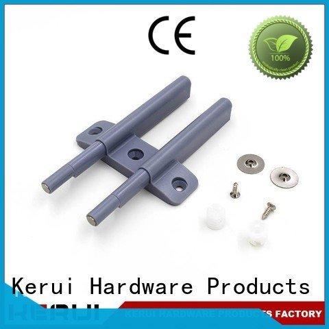 Hot rebound device supplier bumper door luxury Kerui Furniture Hardware Brand