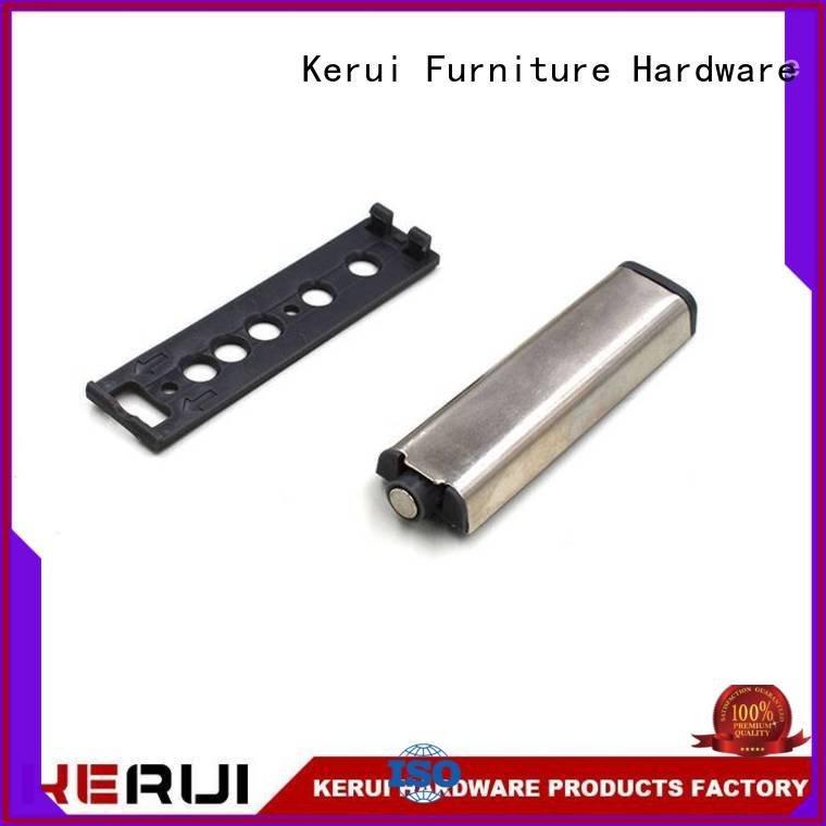 plastic bulb rebound device supplier Kerui Furniture Hardware