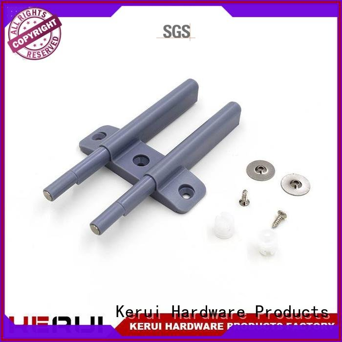 Kerui Furniture Hardware metal accessory rebound device plastic rebound