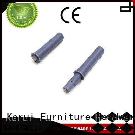 Kerui Furniture Hardware hidden selflocking bulb rebound device supplier kitchen