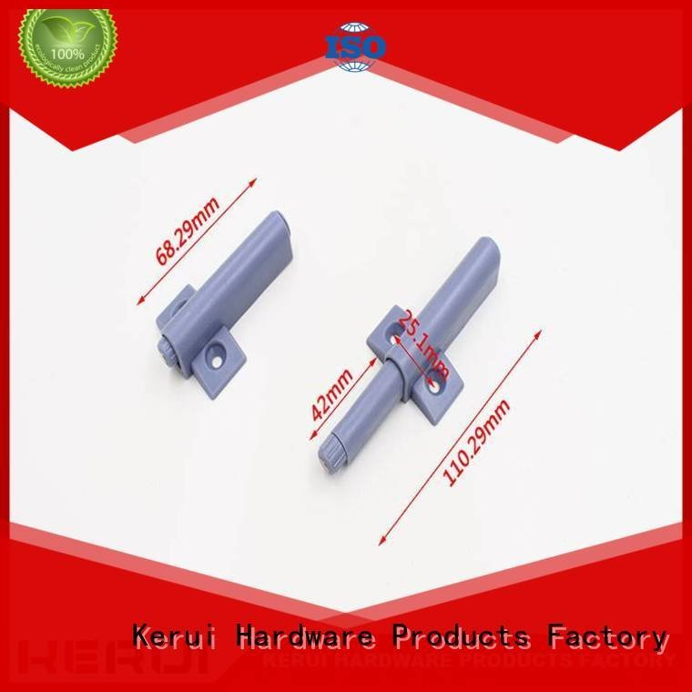 Kerui Furniture Hardware rebound device metal selflocking muffler bouncer