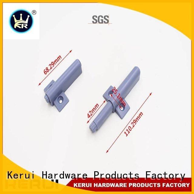 Kerui Furniture Hardware Brand doors magnetic rebound device supplier buffer selflocking