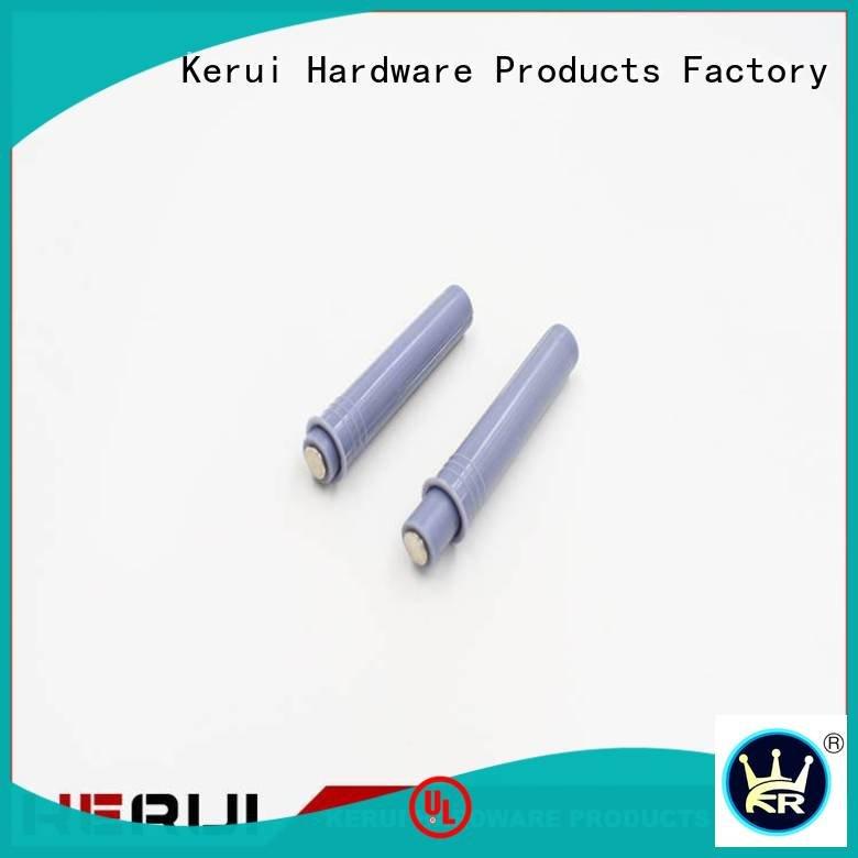 Kerui Furniture Hardware Brand cabinet selflocking rebound device bouncer metal