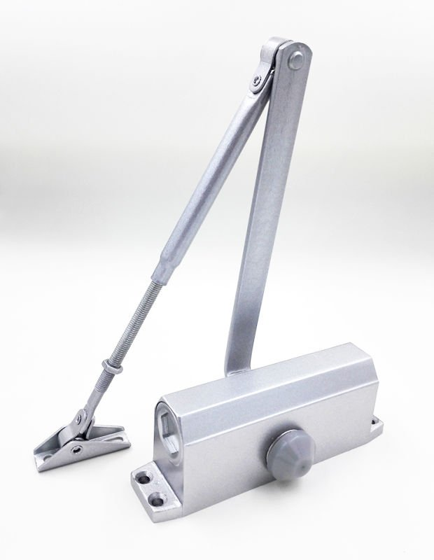Kerui Furniture Hardware automatic door closer price square quadrangle threespeed double