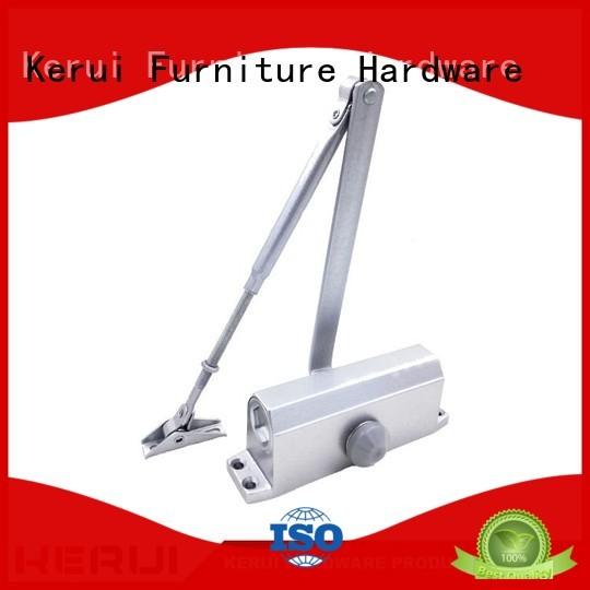 automatic door closer price square spring closers Kerui Furniture Hardware Brand automatic door closer