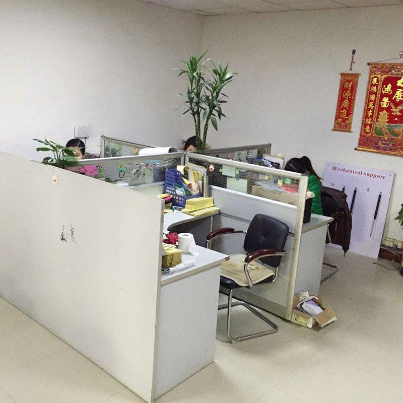 科锐办公室一角