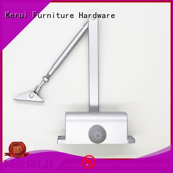 closers double threespeed automatic door closer price Kerui Furniture Hardware manufacture