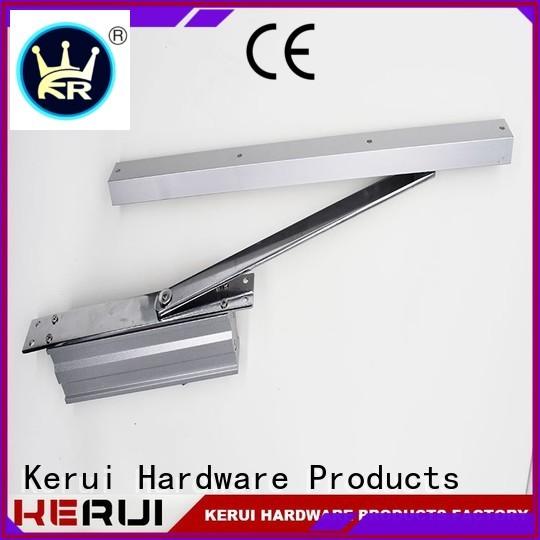 Kerui Furniture Hardware Brand round automatic door closer price square supplier