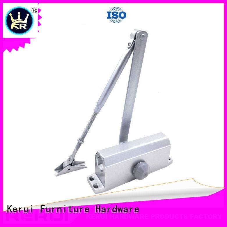 Kerui Furniture Hardware hexagonal automatic door closer triangel door