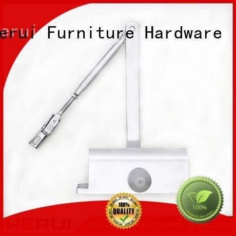 Kerui Furniture Hardware quadrangle triangel automatic door closer hexagonal closers