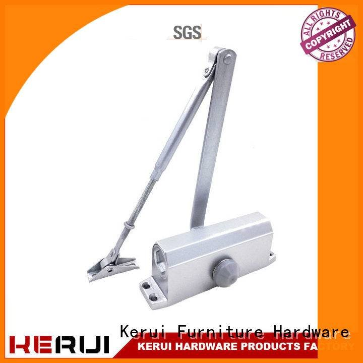 Kerui Furniture Hardware automatic door closer price round hidden hexagonal