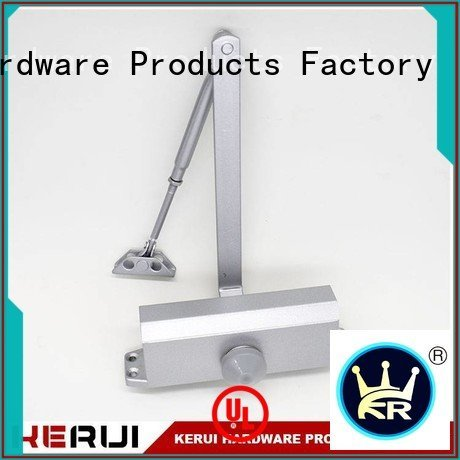 square closer hidden automatic door closer price Kerui Furniture Hardware