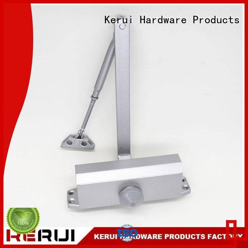 hexagonal hidden automatic door closer closers Kerui Furniture Hardware Brand