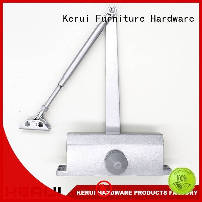 automatic door closer price quadrangle closer hidden door Kerui Furniture Hardware