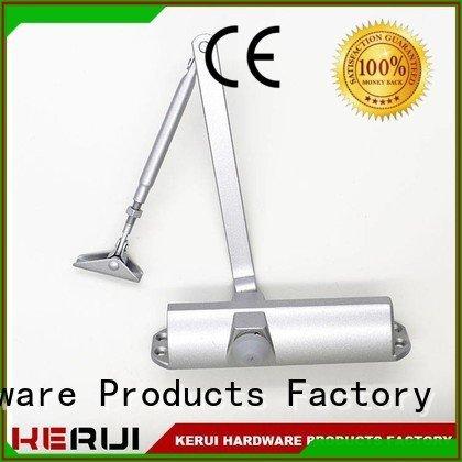 Kerui Furniture Hardware round hexagonal automatic door closer square door