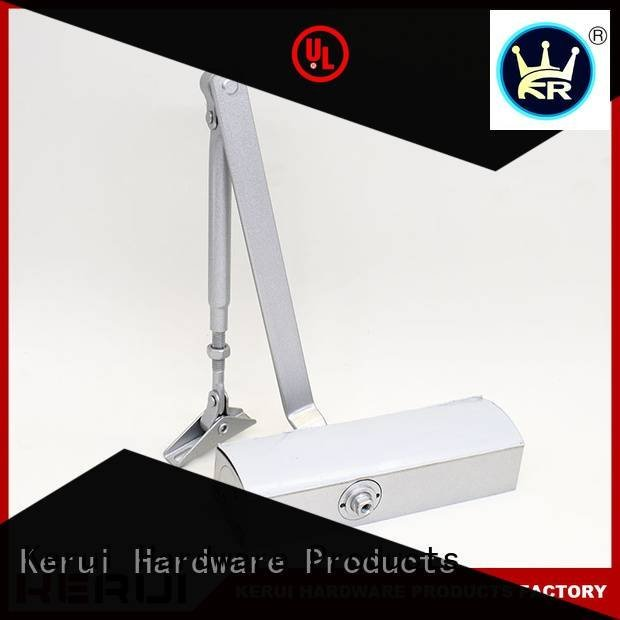 automatic door closer price round double closer Kerui Furniture Hardware