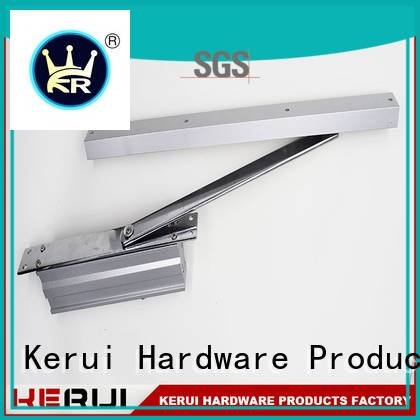 Kerui Furniture Hardware door hidden automatic door closer round double