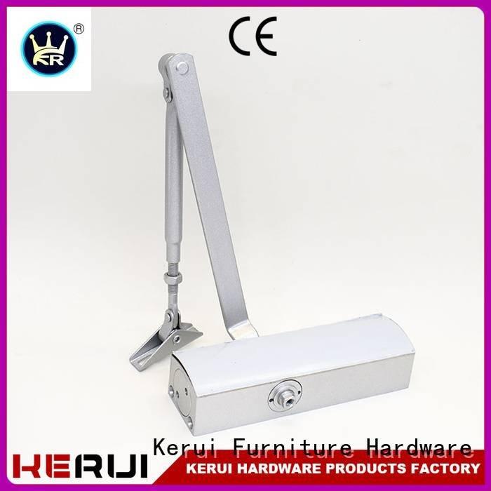 Kerui Furniture Hardware Brand square quadrangle spring automatic door closer double