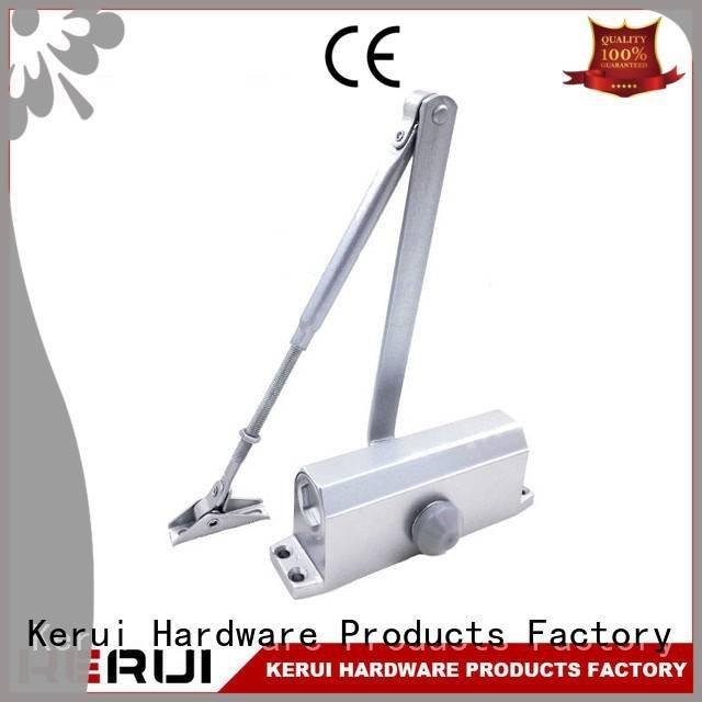 Kerui Furniture Hardware Brand threespeed hidden quadrangle automatic door closer price