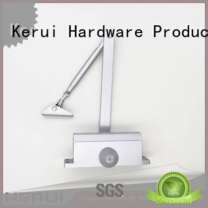 Kerui Furniture Hardware Brand threespeed square automatic door closer price hidden spring