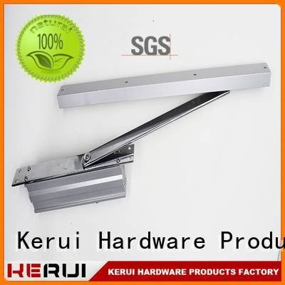 square closer automatic door closer hidden Kerui Furniture Hardware