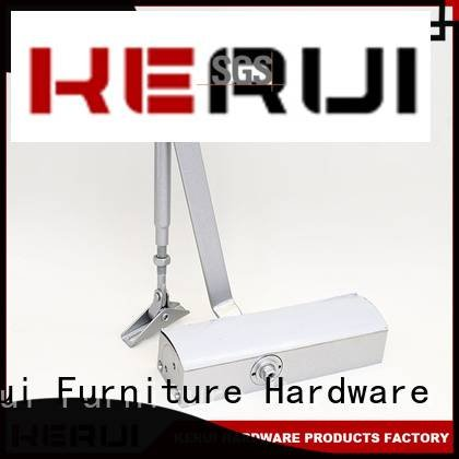 Wholesale threespeed triangel automatic door closer Kerui Furniture Hardware Brand