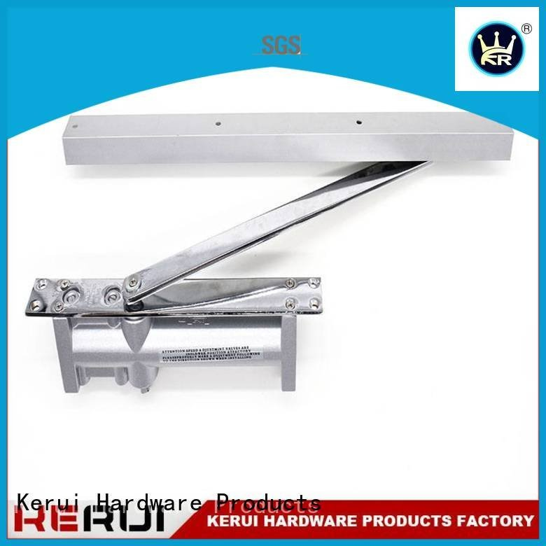 square automatic door closer Kerui Furniture Hardware automatic door closer price