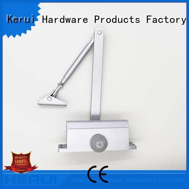 Hot automatic door closer price spring door closer Kerui Furniture Hardware Brand