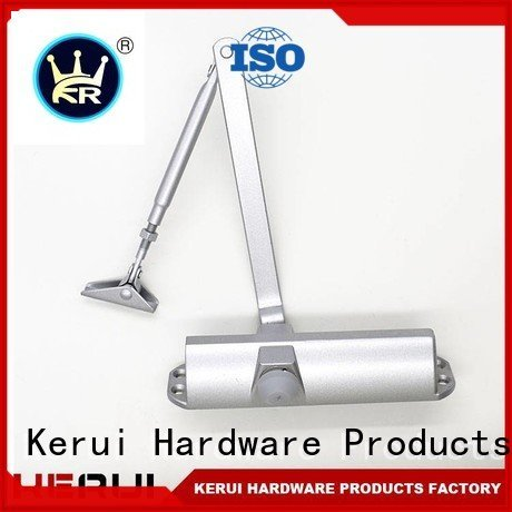 closer square hexagonal Kerui Furniture Hardware automatic door closer price