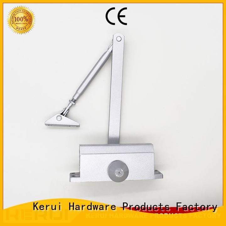 Kerui Furniture Hardware Brand square automatic door closer price hidden door