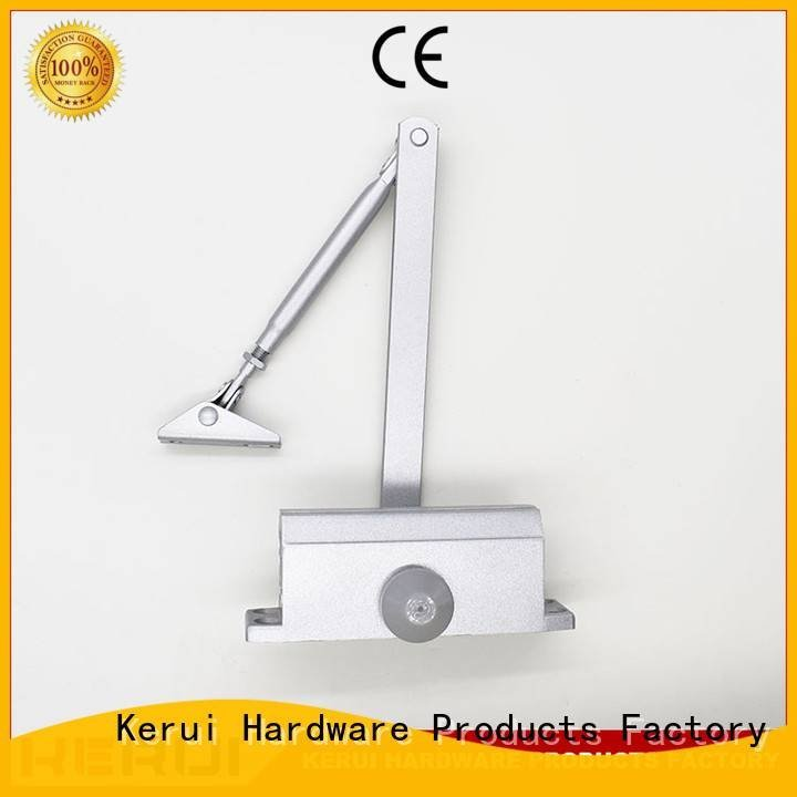 Kerui Furniture Hardware Brand square automatic door closer price hidden door