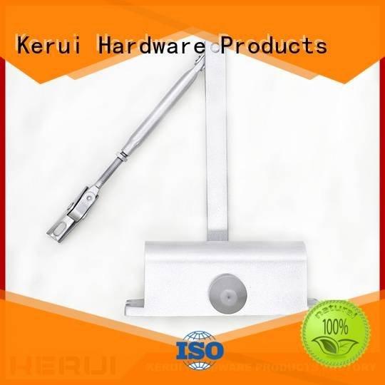 automatic door closer price hexagonal triangel quadrangle square Kerui Furniture Hardware