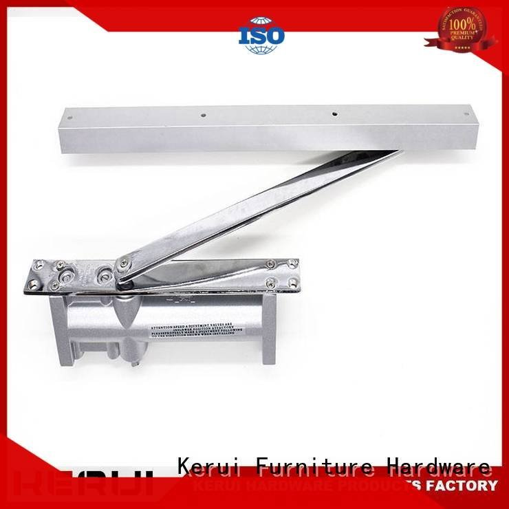 Hot automatic door closer price hexagonal threespeed square Kerui Furniture Hardware Brand