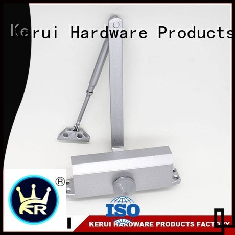 closers Custom square closer automatic door closer Kerui Furniture Hardware triangel