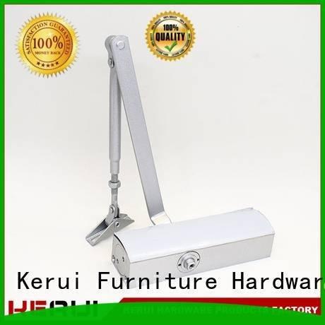 hexagonal round automatic door closer door Kerui Furniture Hardware